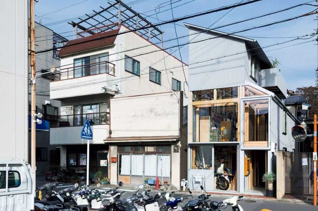 house A / shop B@shinkenchikusha