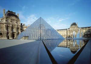 I.M. Pei and Fumihiko Maki Discuss Reorganizing the Louvre