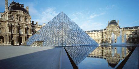 I.M. Pei and Fumihiko Maki Discuss Reorganizing the Louvre