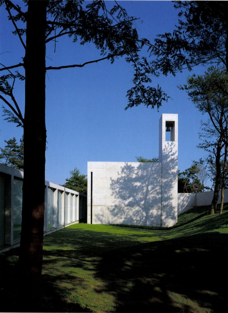 Chapel in Mt. Rokko / Tadao Ando Architect & Associates