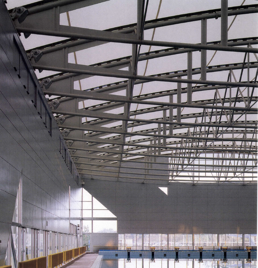 Waseda University Aqua Arena / Tokorozawa Sports Hall / Ikehara Architect & Associates