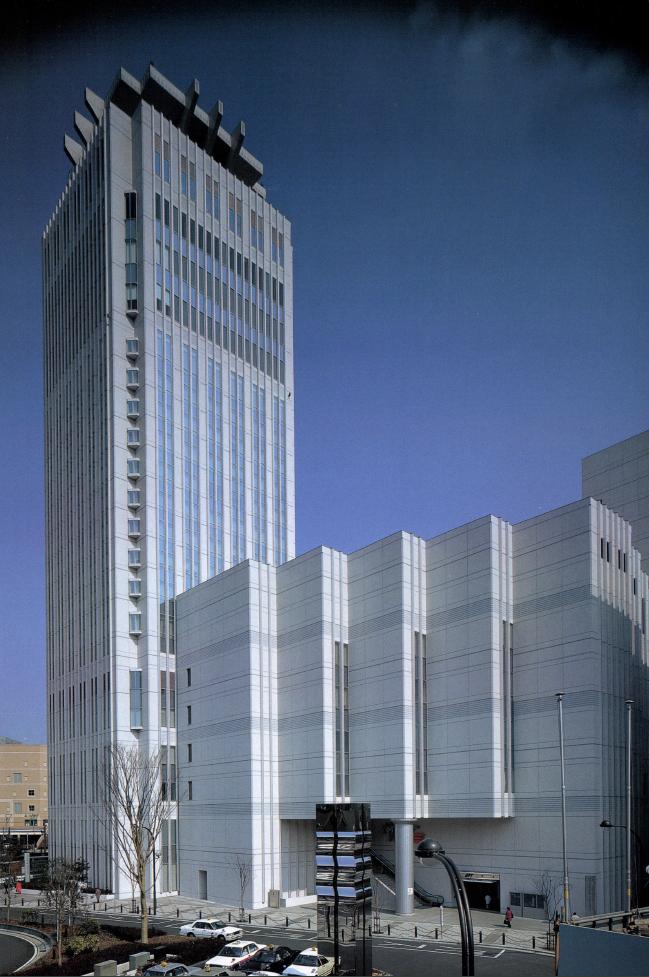 Bay Square Yokosuka / Kenzo Tange Associates