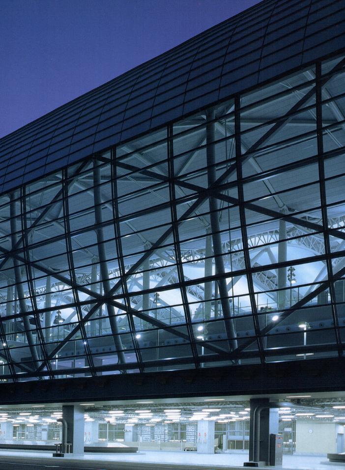 Kansai Internatinal Airport / Renzo Piano Building Workshop Japan, Nikken Sekkei