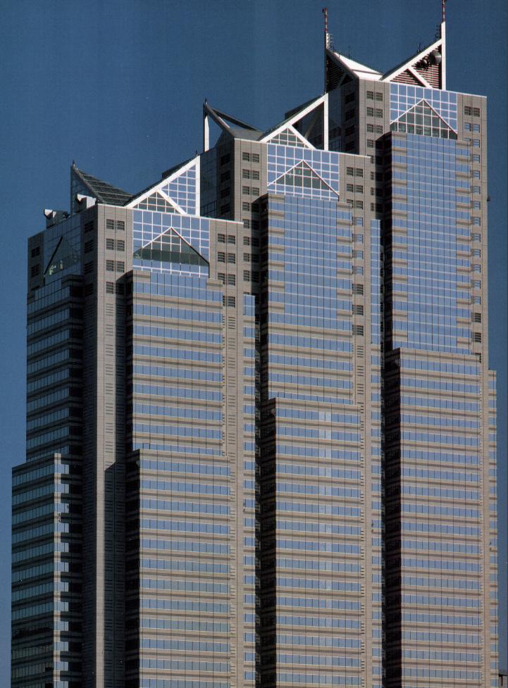 Shinjuku Park Tower / Kenzo Tange Associates  Urbanists-Architects