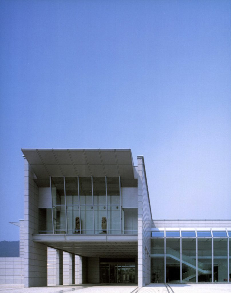 The Yamaguchi Prefectural Museum of Art / Kenzo Tange Associates