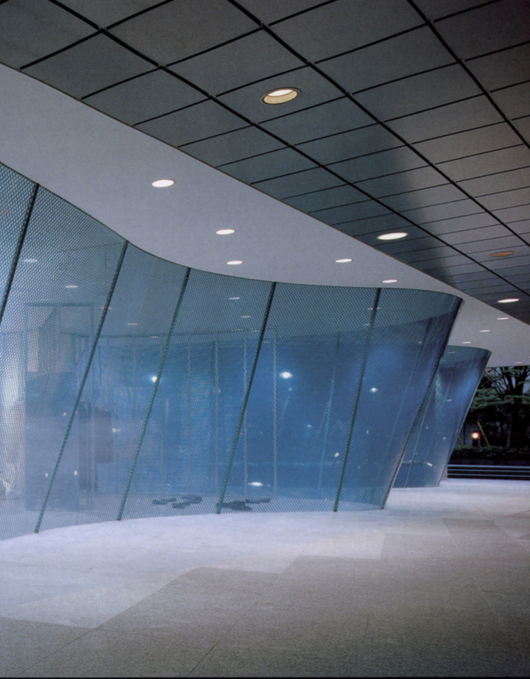 Comme des Garçons, Aoyama Shop / Rei Kawakubo / Takao Kawasaki, Future Systems