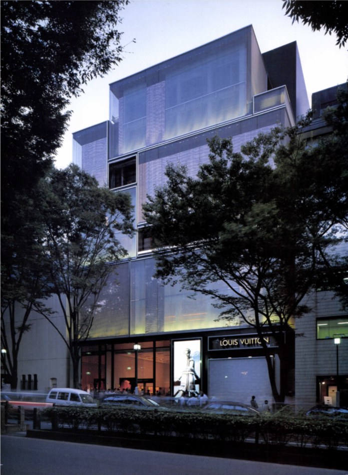 Louis Vuitton Omotesando / Jun Aoki & Associates