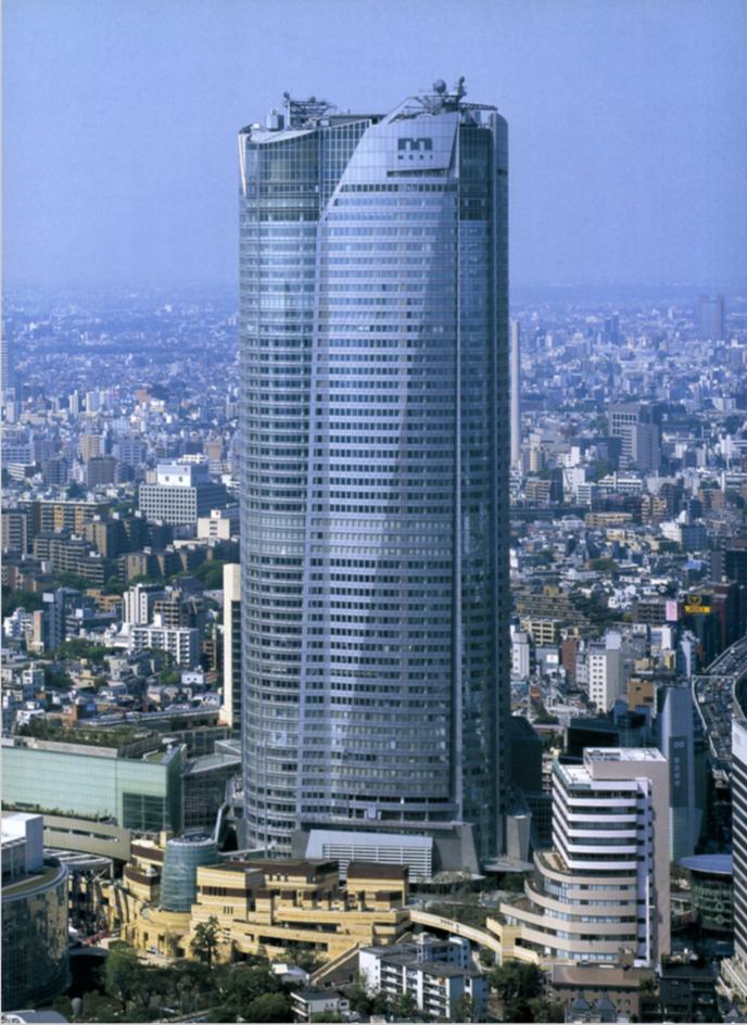 Roppongi Hills / Mori  Building, Irie Miyake, Ymashita Sekkei, Nikken Housing, etc.