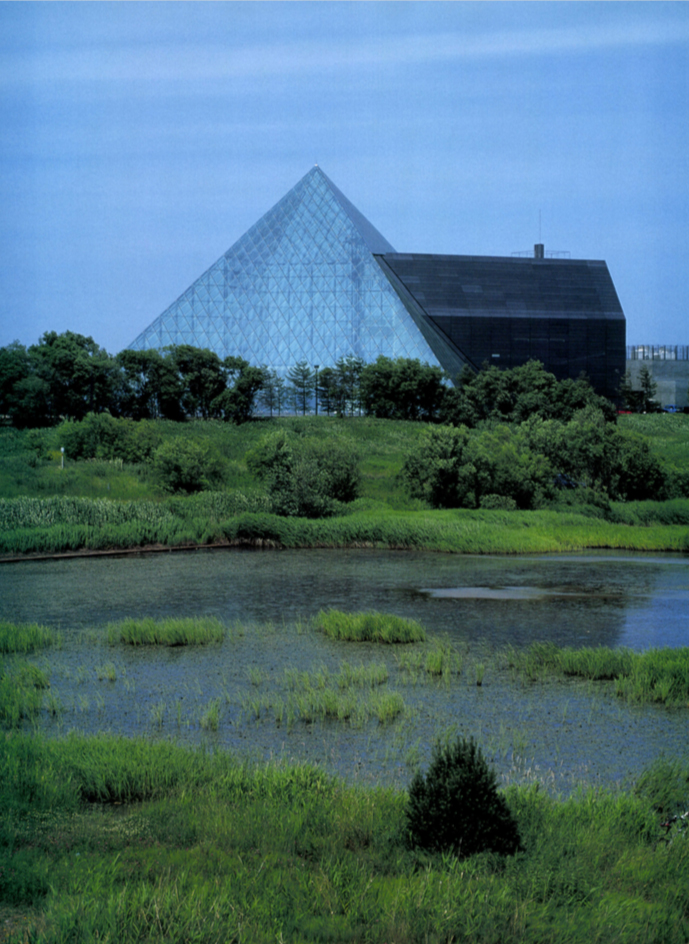 Glass Pyramid in Moerenuma Park / Architect 5 Partnership