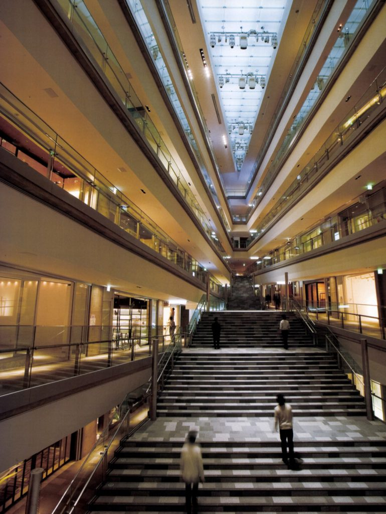 Omotesando Hills / Tadao Ando Architect & Associates, Mori Building