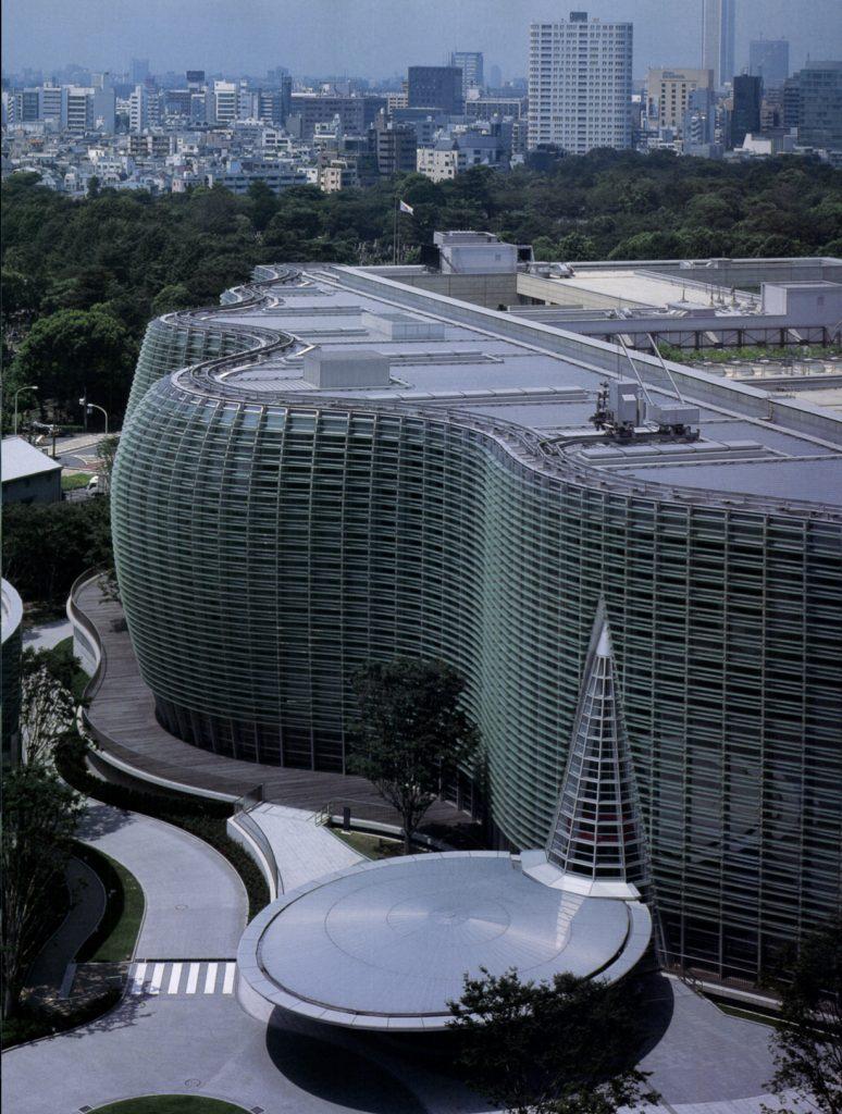The National Art Center, Tokyo / Kisho Kurokawa + Nihon Sekkei