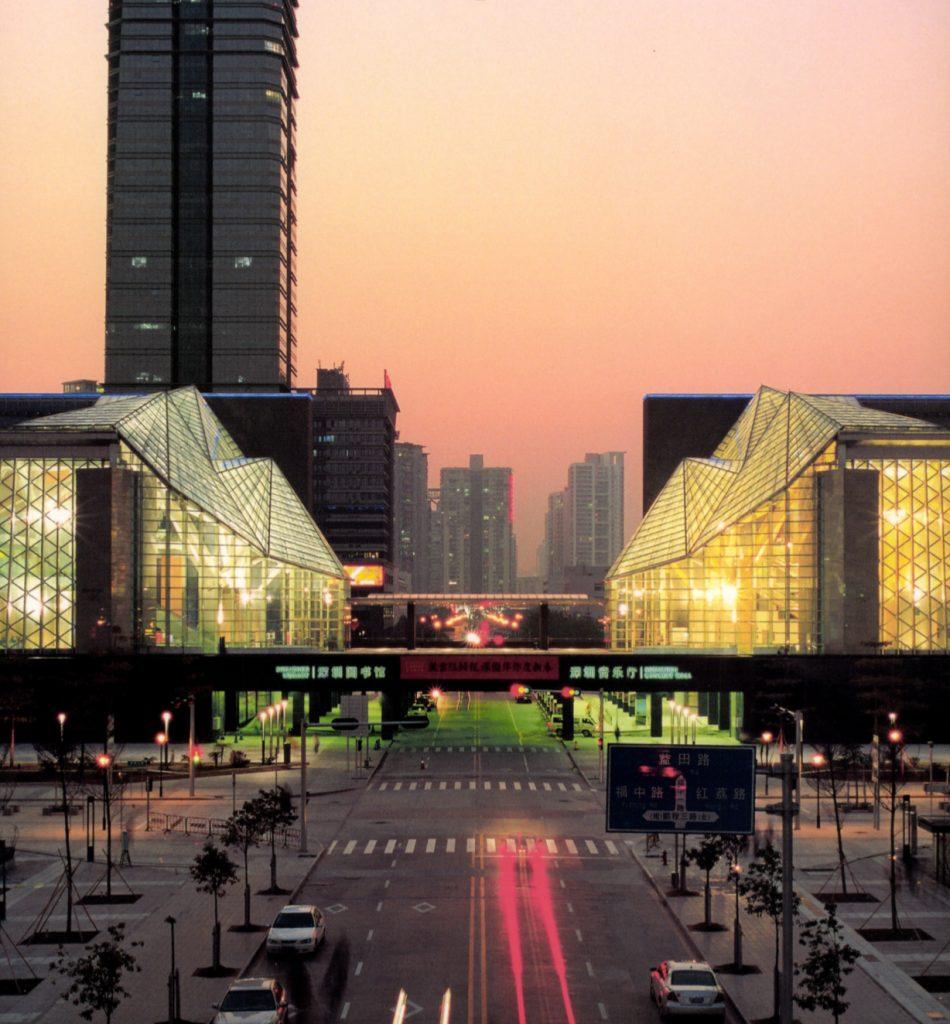 Shenzhen Cultural Center / Arata Isozaki & Associates