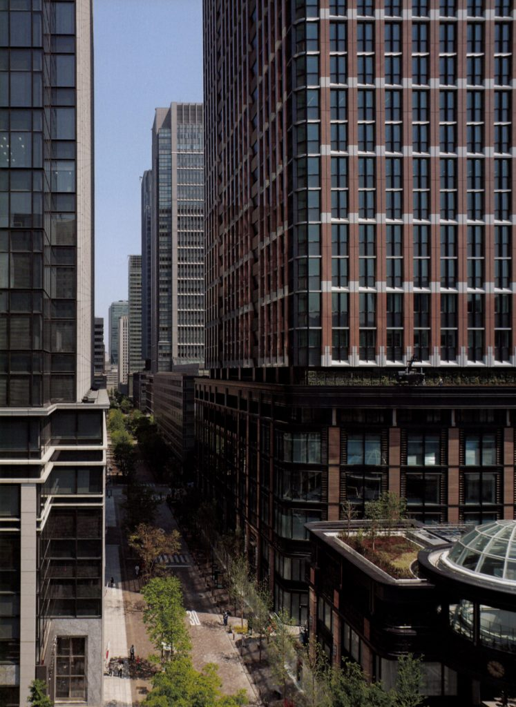 Marunouchi Park Building / Mitsubishi Ichigokan / Mitsubishi Jisho Sekkei