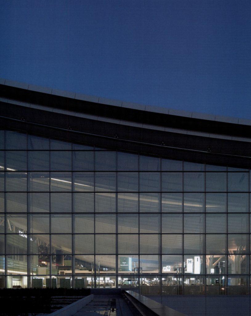 Tokyo International Airport / Azusa Sekkei, PCPA Japan,Yasui Architects & Engineering