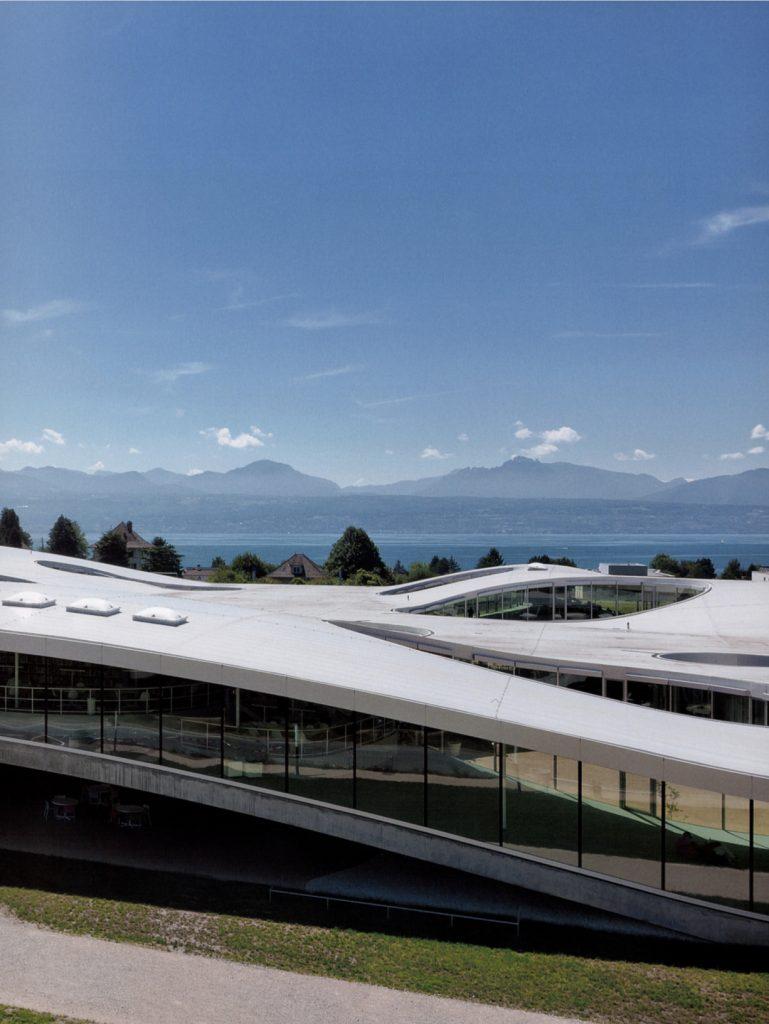 Rolex Learning Center/ Kazuyo Sejima + Ryue Nishizawa / SANAA, Architram SA