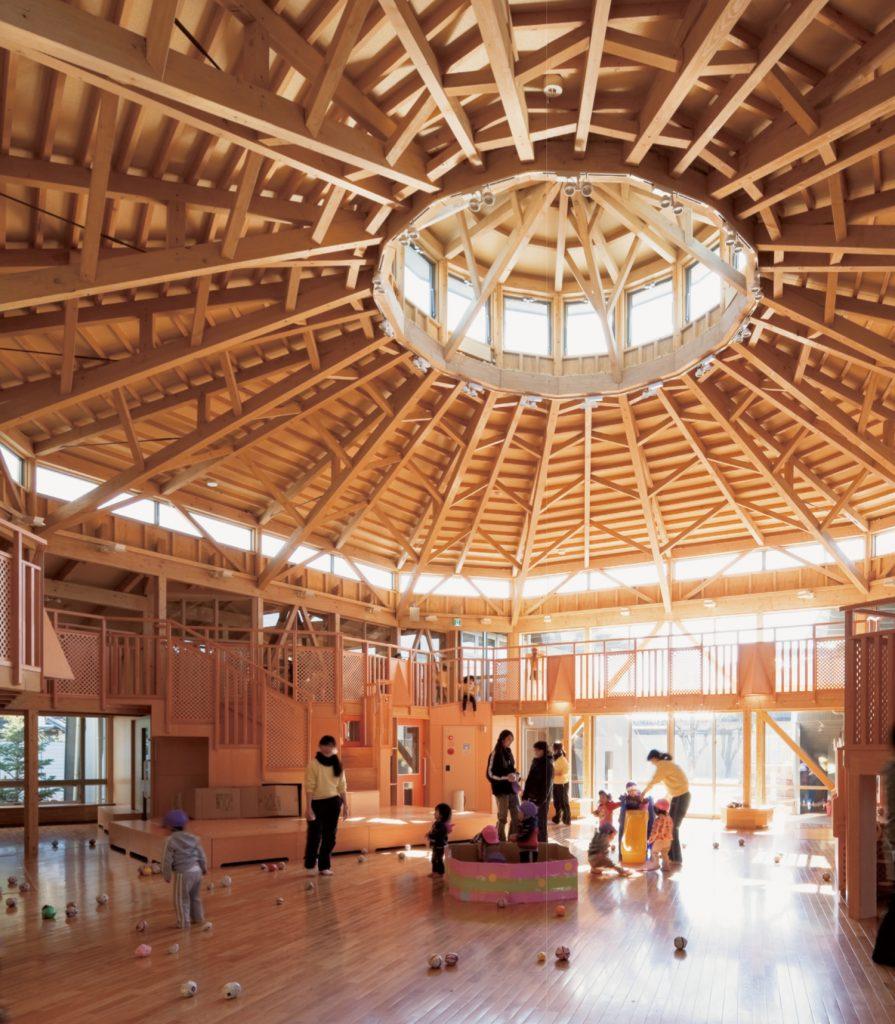 Green Note Day Nursery / Mitsuru Senda + Environment Design Institute