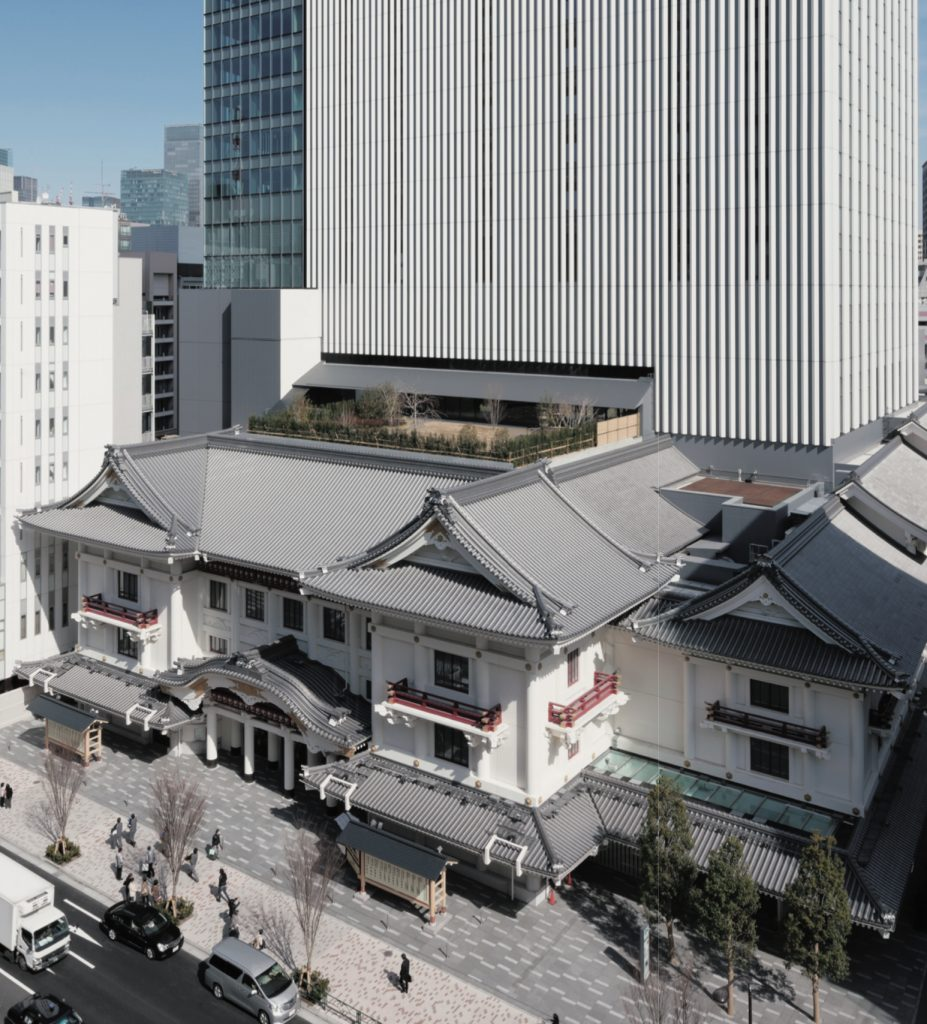 Ginza Kabukiza / Mitsubishi Jisho Sekkei Kengo Kuma and Associates