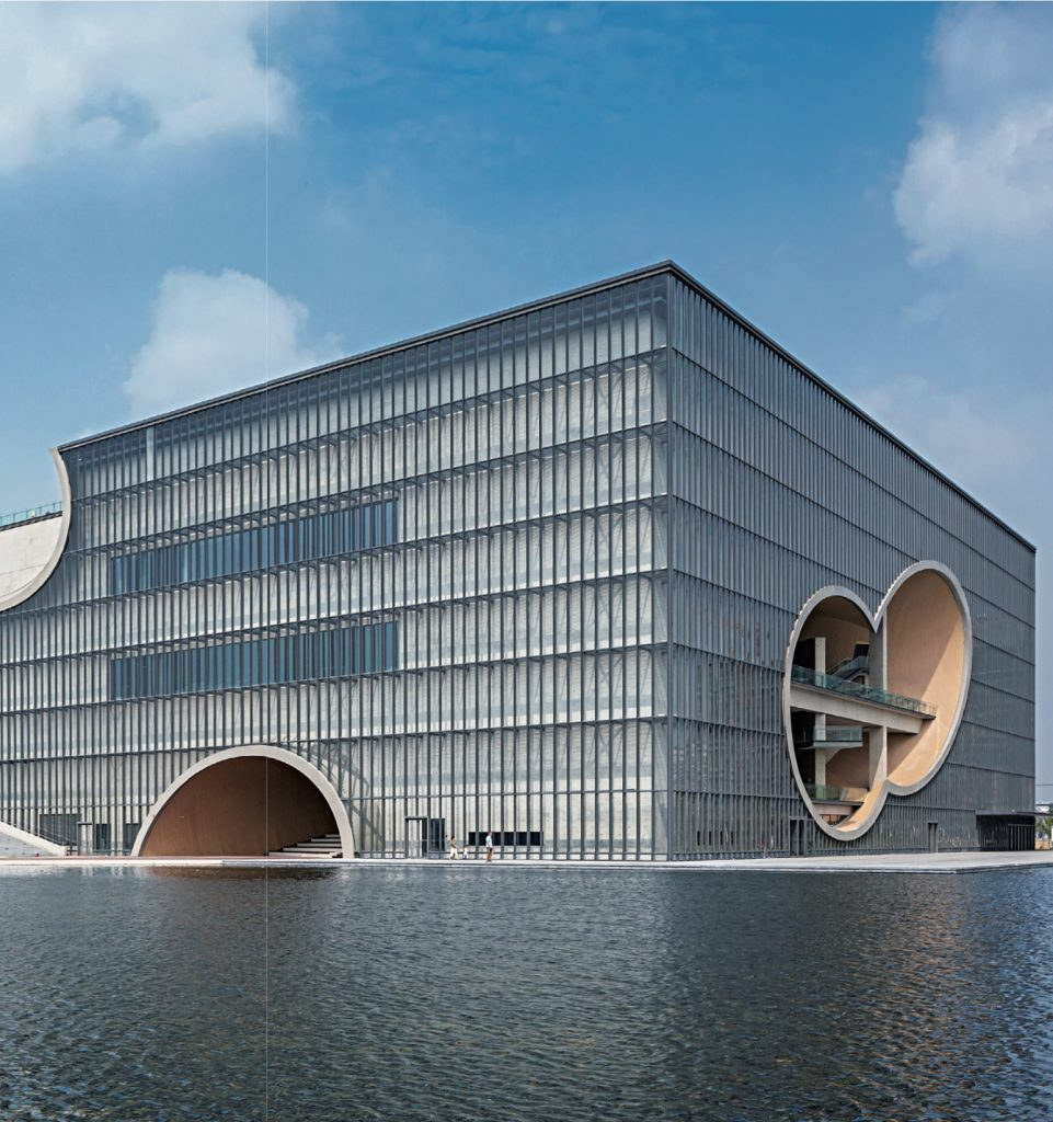 Shanghai Poly Theater / Tadao Ando, Tongji University Shanghai