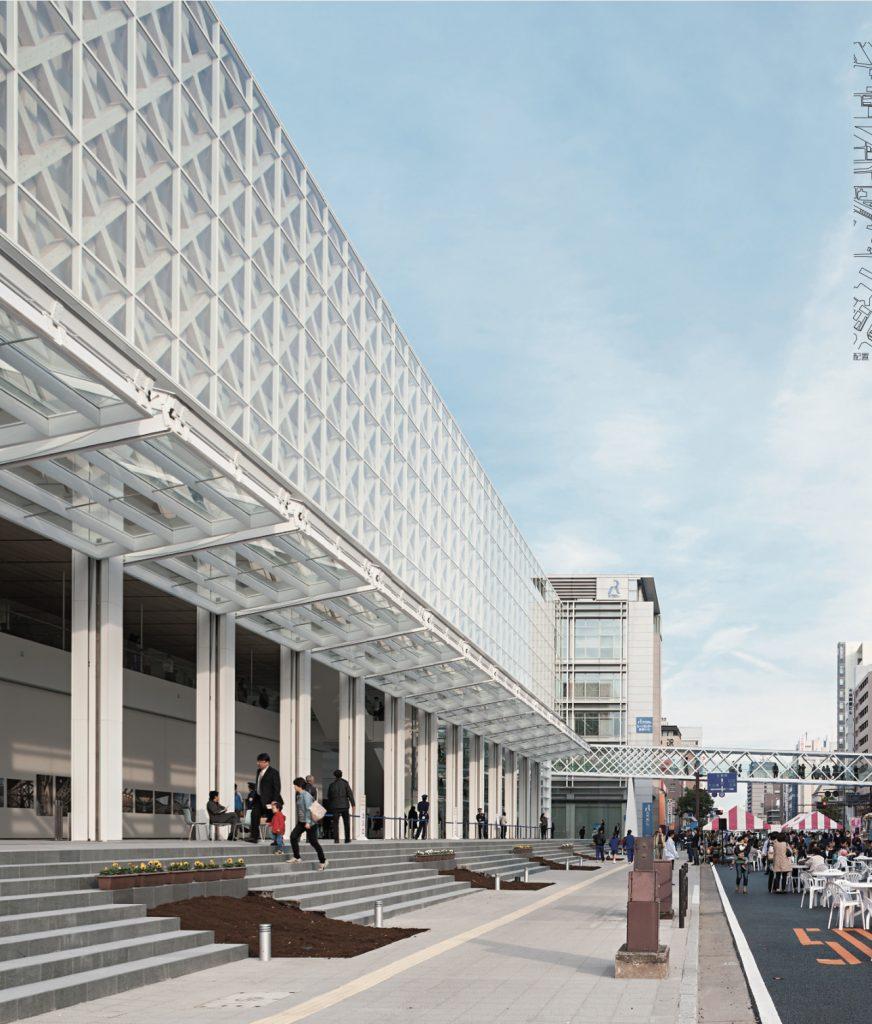 Oita Prefectural Art Museum / Shigeru Ban Architects