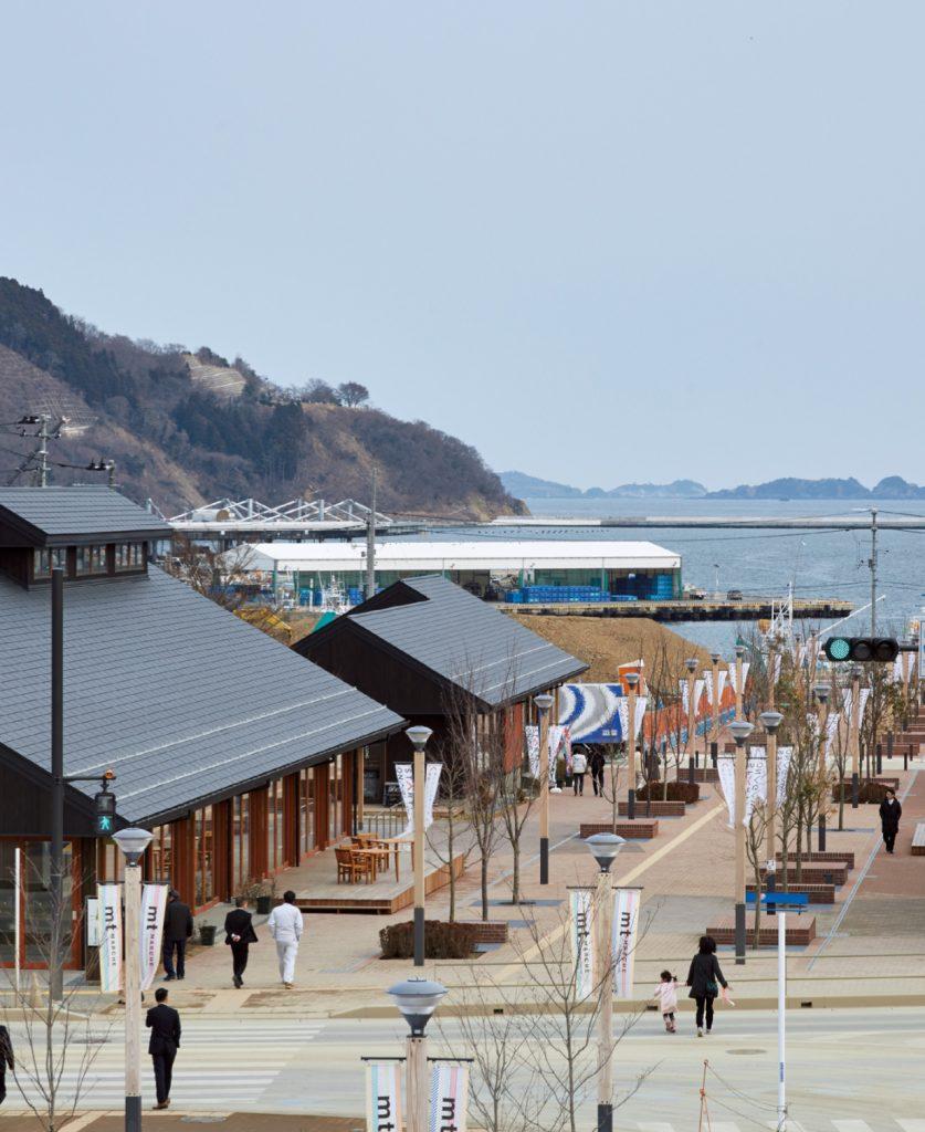 Seapal – Pier Onagawa / Azuma Architect & Associates