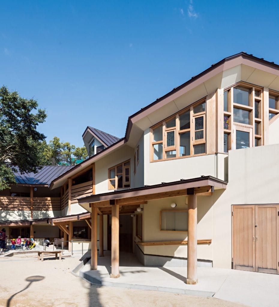 Mori No Ouchi Nursery School / Kan Architects Studio