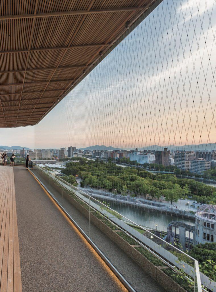 Hiroshima Orizuru Tower / Sambuichi Architects
