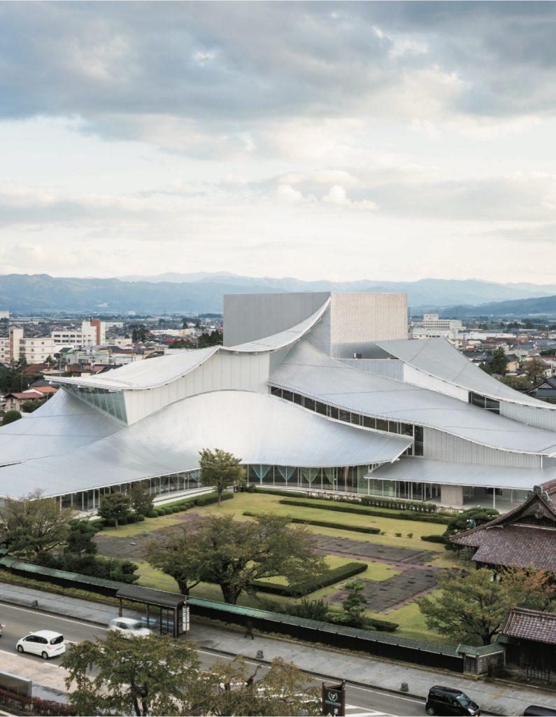 Shogin TACT Tsuruoka / SANAA + Shinbo Architects Office + Ishikawa Architects Office